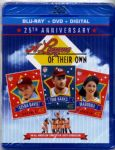 A LEAGUE OF THEIR OWN - 25th ANNIVERSARY BLU RAY + DVD